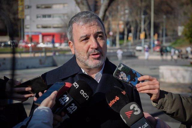 Declaraciones de Jaume Collboni (PSC) a los medios de comunicación