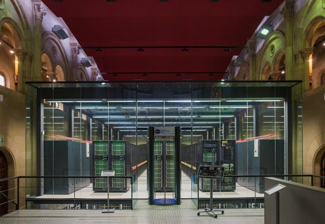 Instalaciones del Barcelona Supercomputing Center (BSC)