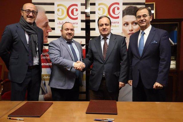 Centro Zaragoza, nuevo socio del Club Líder de la Cámara de Comercio.