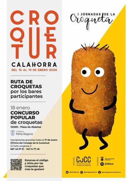 El Consejo de la Juventud de Calahorra organiza del 16 al 19 de enero las I Jornadas de la Croqueta 'Croquetur'