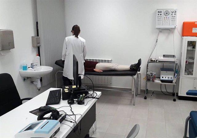 Chequeos médicos en Utrillas.