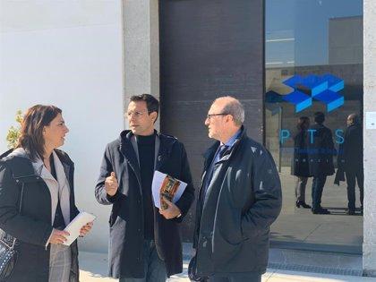 Cuenca se reúne con la dirección del PTS de Granada y reivindica su condición de motor económico