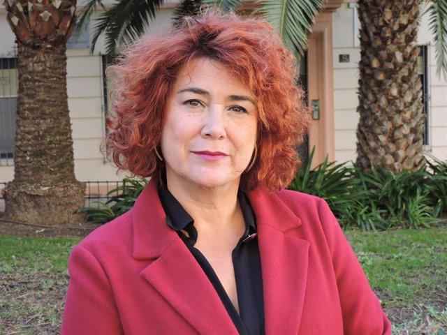 La concejal socialista Amparo Ramírez