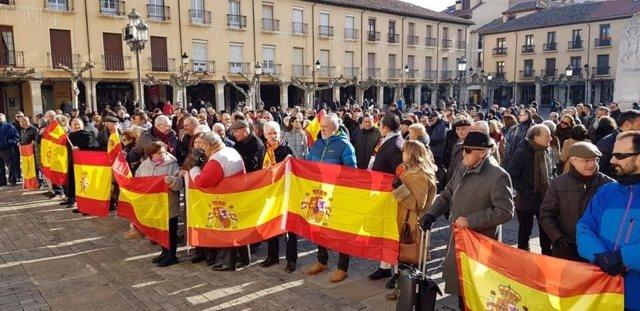 Concentraicón en Palencia.