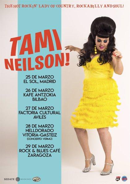Tami Neilson, una de las musas del country, encabeza un Factoría Sound que inicia su cuarta temporada en Avilés