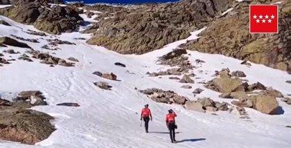 Muere un montañero en la zona de Peñalara al precipitarse por una ladera de unos 300 metros