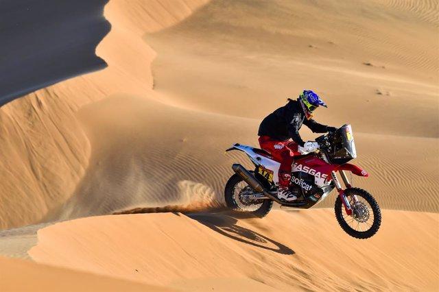 """Rally/Dakar.- Laia Sanz: """"Ha sido la peor etapa de mi vida, Paulo Gonalves era"""