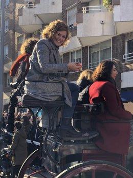 La regidora d'ERC a l'Ajuntament de Barcelona Elisenda Alamany
