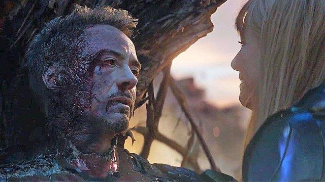 Robert Downey Jr en el final de Vengadores: Endgame