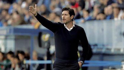 """Víctor Sánchez del Amo: """"Nos entristece que no se nos permita continuar en la lucha con el Málaga"""""""