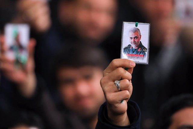 Vigília pel general Qasem Soleimani