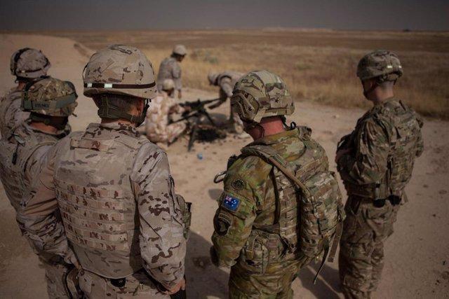 Militares de la coalición internacional en Irak
