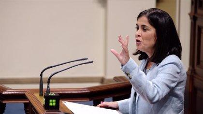 Darias recibirá este lunes en manos de Luis Planas la cartera de ministra de Política Territorial y Función Pública