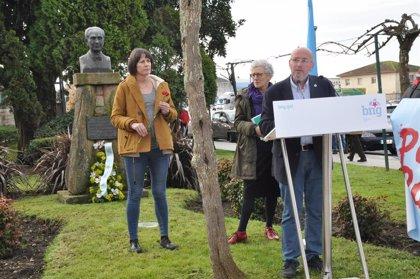 """Ana Pontón (BNG): """"La figura de Castelao es incómoda porque el nacionalismo es clave en el cambio político de Galicia"""""""