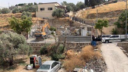 Israel notifica el derribo de la nueva casa de la familia de un preso palestino tras el derribo de la primera