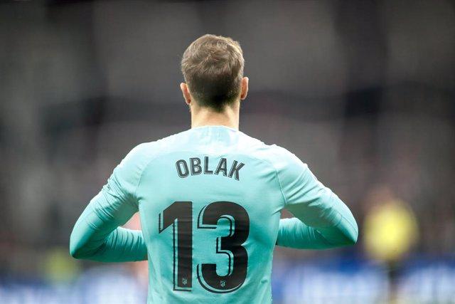 """Fútbol/Supercopa.- Oblak: """"No tuvimos suerte suficiente para ganar"""""""
