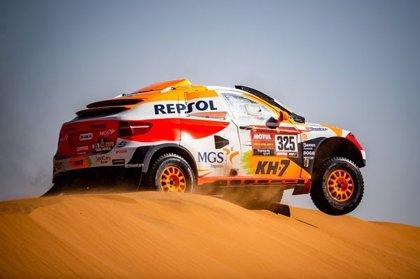 Isidre Esteve no termina la etapa pero seguirá en la nueva categoría Dakar Experience