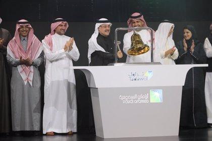Arabia Saudí.- Aramco eleva a 26.450 millones el récord de su OPV tras ejecutar Goldman Sachs el 'green shoe'