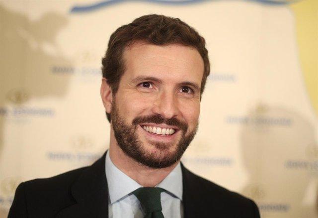 El president del PP, Pablo Casado.