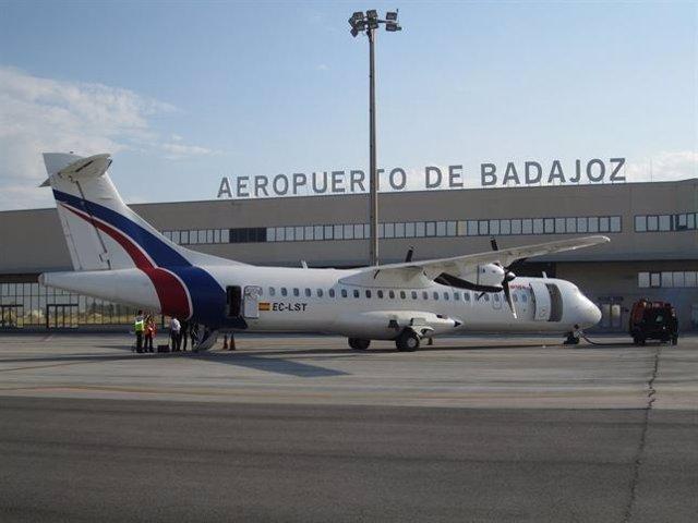Aeropuerto de Badajoz, imagen de archivo