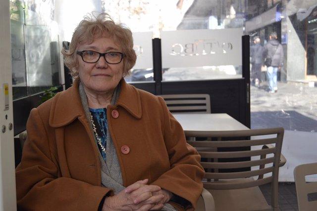 Isabel-Clara Simó en una foto d'arxiu.