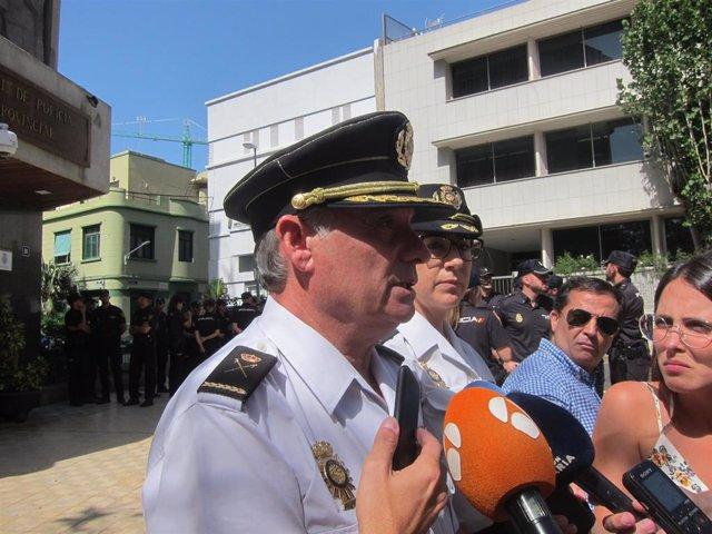 Jefe Superior de la Policía Nacional en Canarias, José María Moreno