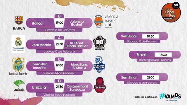 Quadre de la Copa del Rei de Màlaga