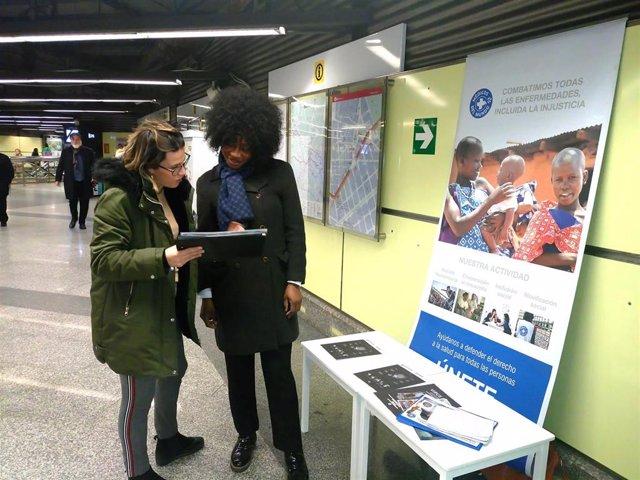 Acción de Médicos del Mundo en Metrovalencia