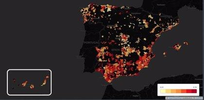 Las ciudades españolas más desiguales en renta, según Fedea, en mapas y gráficos