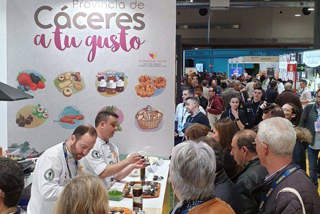 Diputación de Cáceres, presente en Madrid Fusión