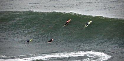 Activado para este martes en Euskadi el aviso por heladas, vientos de 100 km/h y olas de hasta 4,5 metros