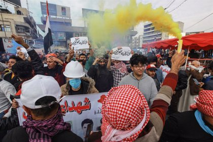 Irak.- Nuevos disturbios entre manifestantes y Policía en Irak
