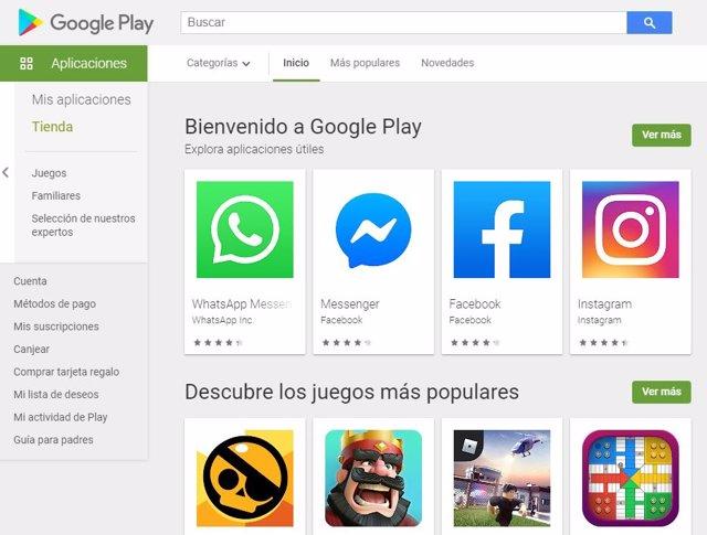 Google Play prueba una nueva sección unificadas para reseñas