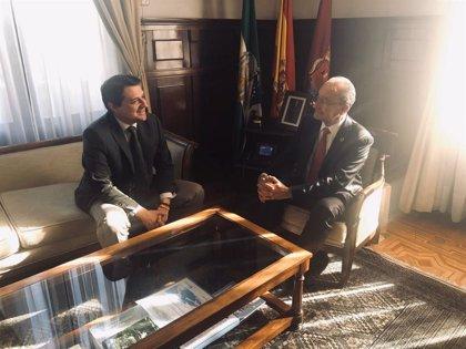 Córdoba y Málaga acuerdan trabajar en proyectos comunes para ambas ciudades