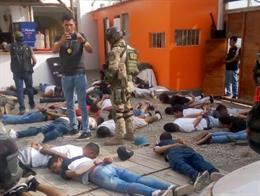 Perú.- Detenidos 124 miembros de una red criminal en un hotel a las afueras de L