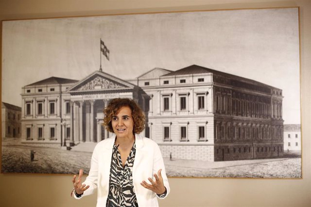 La portavoz del Partido Popular en el Parlamento Europeo, Dolors Montserrat, en una imagen de archivo