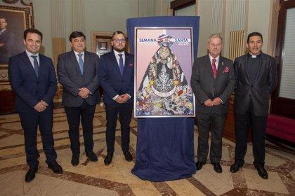 El Ayuntamiento acoge la presentación del cartel de la Semana Santa de Huelva 2020