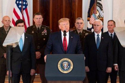 El 56 por ciento de los estadounidenses no respalda la postura de Trump con respecto a Irán