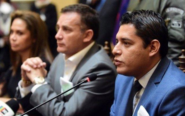 El ministro de Justicia de Bolivia, Álvaro Coímbra.