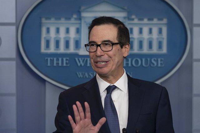 El secretario del Tesoro de Estados Unidos, Steven Mnuchin.