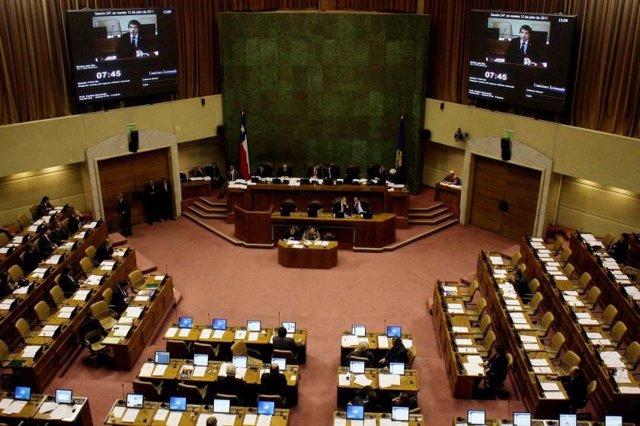 El Senado de Chile.