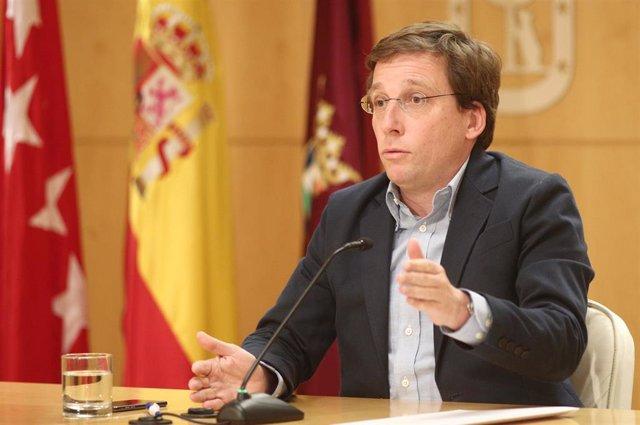 El alcalde de Madrid, José Luis Martínez- Almeida.