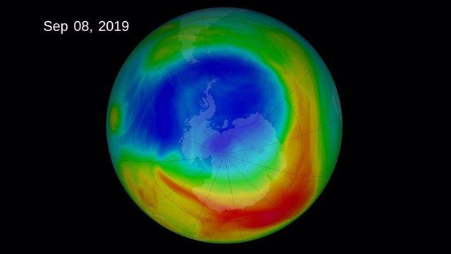 El yodo puede estar retrasando la recuperación de la capa de ozono