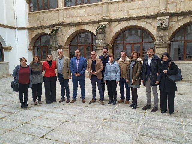 Equipo de Gobierno de la Diputación de Cáceres tras el balance de gestión de 2019