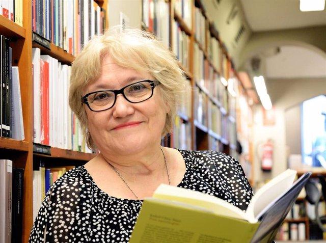 La escritora Isabel-Clara Simó, en una imagen de archivo.