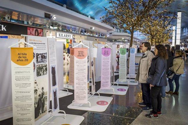 Exposición '1920-2020. Un siglo de moda' en intu Asturias.