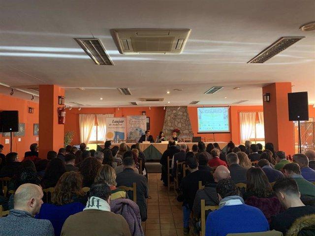 Jornada sobre despoblación organizada por la FAMP en Laujar de Andarax (Almería)