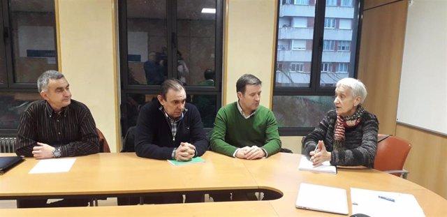 Reunión de ANPE con la consejera de Educación, Carmen Suárez.