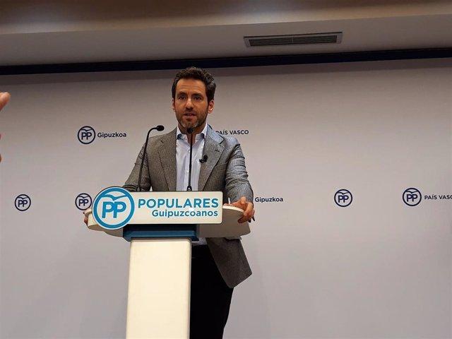 Intervención de Borja Sémper en la que ha hecho pública su decisión de dejar la política