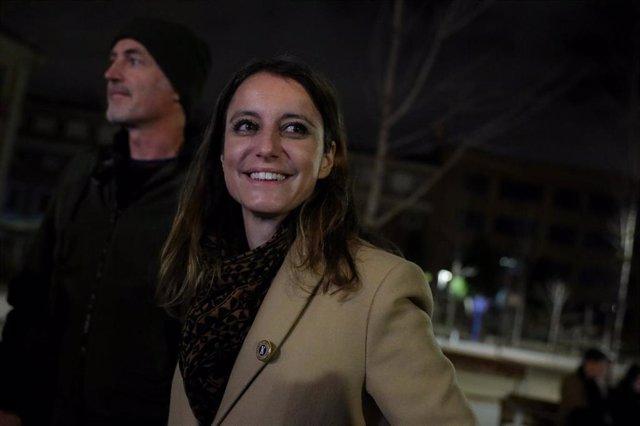 La delegada de Cultura, Turismo y Deporte, Andrea Levy.